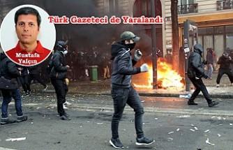 Protestolar Fransa'da hayatı felç etti