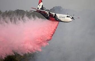 Avustralya'da yangın söndürme helikopteri yangın çıkardı