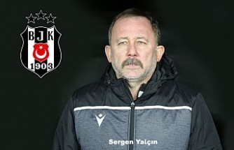 Beşiktaş, Sergen Yalçın'a emanet