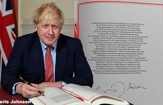 Boris Johnson'dan Brexit'e Tarihi İmza!