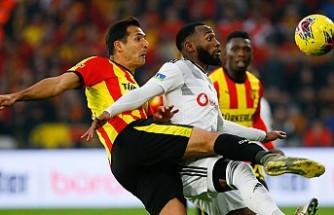 Göztepe, Beşiktaş'a fırsat vermedi