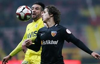 Kayserispor, Fenerbahçe'ye Fırsat Vermedi