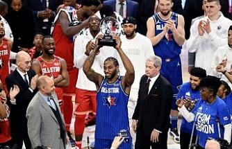 NBA All-Star maçının kazanını LeBron James'in takımı oldu