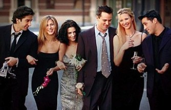 Friends oyuncuları, özel bölüm için bir araya geliyor