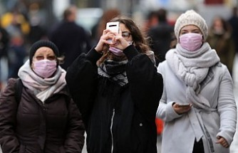 Londra'da Koronavirüse Maske Önlemi