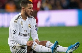 Real Madrid'e Hazard'dan kötü haber