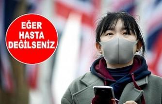 Dünya Sağlık Örgütü'nden Maske Uyarısı