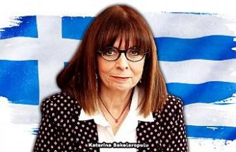 Yunanistan'ın ilk kadın Cumhurbaşkanı Sakelaropulu Göreve Başladı