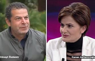 Cüneyt Özdemir, Canan Kaftancıoğlu'na 'Hodri Ekran' Dedi