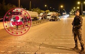 Türkiye'nin 30 Büyükşehrine Giriş Çıkış Durduruldu
