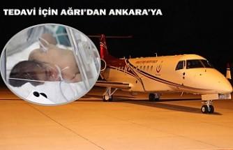 Ambulans Uçak 17 Günlük Bebek İçin Havalandı