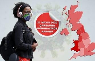 İngiltere'de Koronavirüs Ölümleri Aynı Hızda