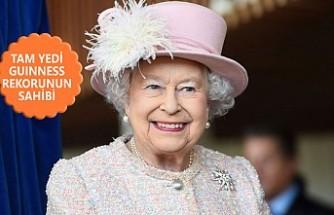 Kraliçe Elizabeth 'Rekorların Kraliçesi'
