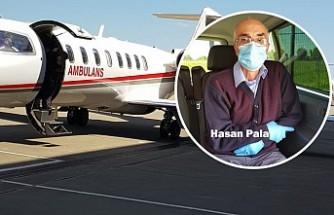 Londra'daki Kalp Hastası Hasan Pala, Ambulans Uçakla Türkiye'de