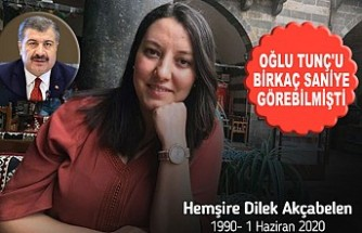 Dilek Hemşirenin Acı Haberini Bakan Koca Duyurdu!