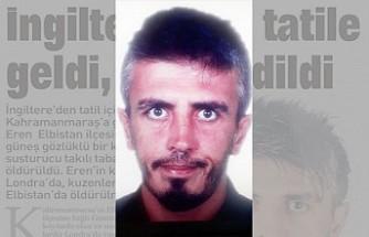 Londra'dan Tatile Gitti, Elbistan'da Öldürüldü