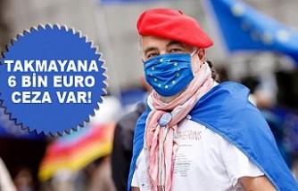 Avrupa Maske Takmayanı Affetmiyor!