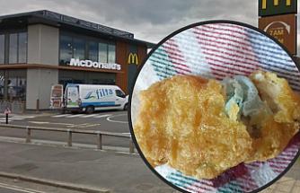 İngiltere'de McDonald'da mide bulandıran olay!