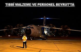 Türkiye'den Lübnan'a Yardım Eli
