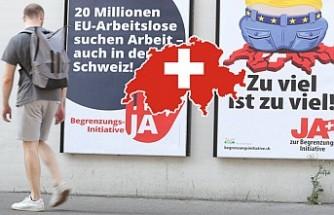 İsviçre Halkı AB İle Serbest Dolaşıma 'Devam' Dedi