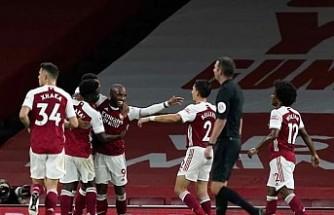 Londra derbisinin kazananı Arsenal oldu