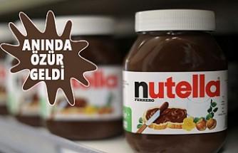 Nutella'ya Sosyal Medyada 'Helal' Şoku!