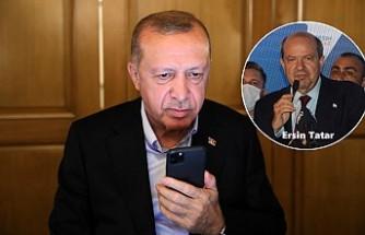 Cumhurbaşkanı Erdoğan'dan Tatar'a Tebrik Telefonu