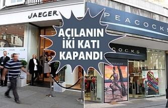 İngiltere'de Kapanan Mağaza Sayısı Rekor Seviyede