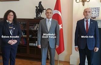 'İYİ Toplum Gönüllüleri'nden Büyükelçi Yalçın'a Rapor