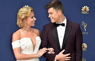 Scarlett Johansson, komedyen Colin Jost ile evlendi