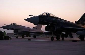 İngiliz Eurofighter Typhoon Savaş Uçakları Konya'da!