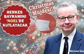 İngiltere'de Aileler 'Christmas'ta Kucaklaşacak!