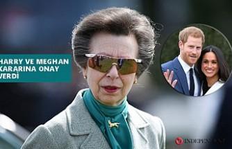 Kraliçe'nin Tek Kızı Prenses Anne'den 'Megxit' Destek