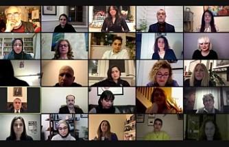 """Londra """"Türk Toplumu Sanat Sergisi"""" Çevrim İçi Ortamda Açıldı"""
