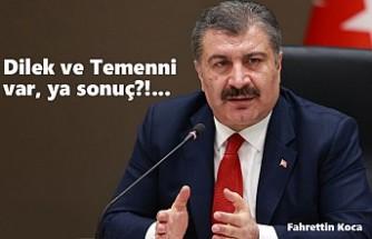 Salgın Türkiye'de 'Pik' Yapmaya Devam Ediyor