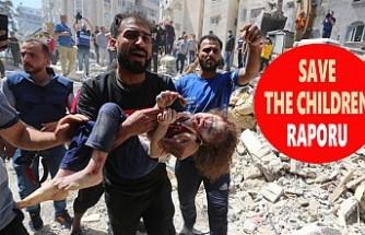 Gazze'de Saatte Üç Çocuk Yaralanıyor