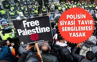 Londra'da 'Özgür Filistin' Sloganı Atan Polise Soruşturma