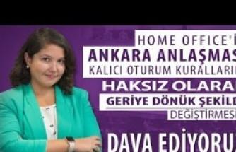 Ankara Anlaşması Süresiz Oturma Vizesi Davası