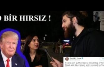 Yunus Dalgıç Londralılara Donald Trump'ı Sordu