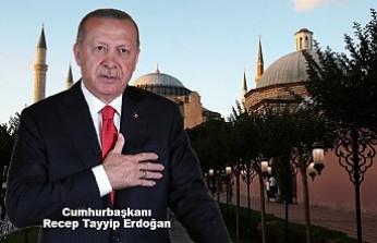 Erdoğan, Ayasofya'nın İbadete Açılacağı Tarihi Açıkladı