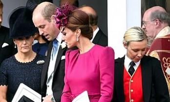 Kraliyet Gelini Kate Middleton, Rüzgarın Azizliğine Uğradı