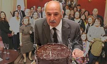 İş Adamı Özkul Beyzade'ye Sürpriz Doğum Günü