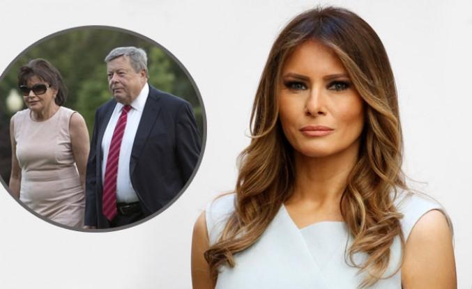 Melanie Trump'ın anne ve babası da Amerikalı oldu
