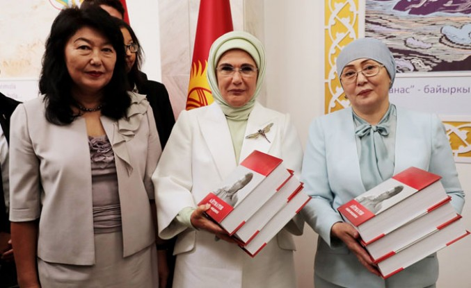 Cengiz Aytmatov Kültür Merkezininin Açılışını Emine Erdoğan Yaptı