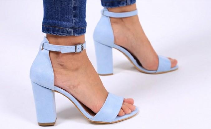 Topuklu ayakkabıyla da rahat etmek mümkün