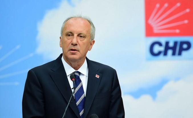 """Muharrem İnce'den İstanbul adaylığı için """"sandık"""" şartı"""