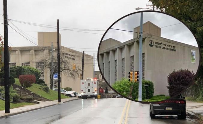 Sinagoga silahlı saldırıda 11 ölü