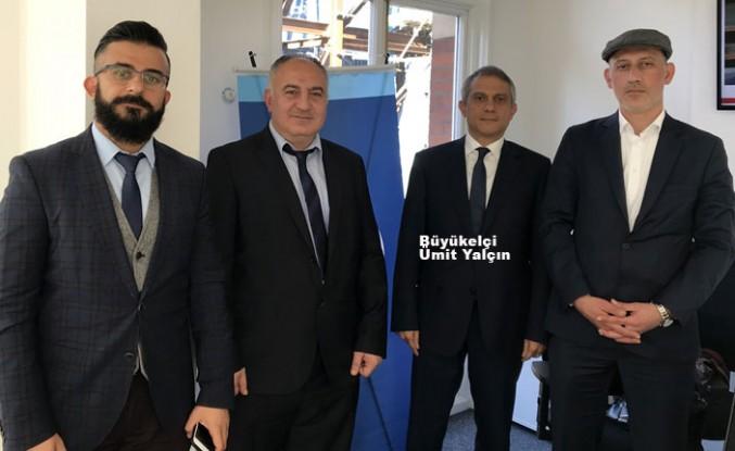 Türkiye'nin Londra Büyükelçisi Yalçın'dan AA'ya ziyaret