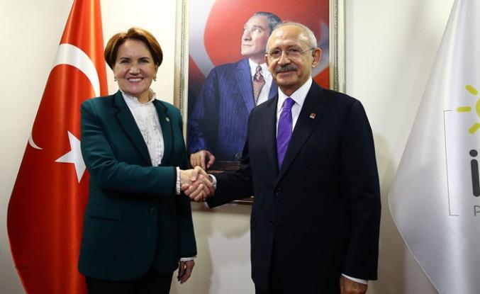 Kılıçdaroğlu, Akşener'i İyi Parti'de Ziyaret Etti