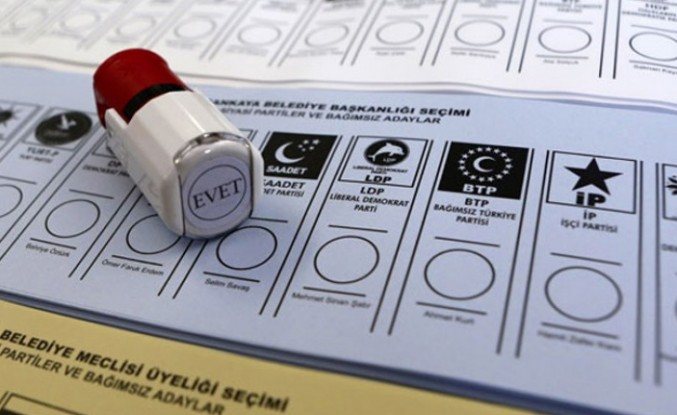 Yerel seçimlere katılacak parti sayısı 12'ye düştü